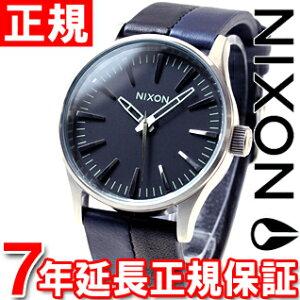 ニクソンNIXONセントリー38レザーSENTRY38LEATHER腕時計メンズ/レディースブラック/ネイビー/ブラックNA3771938-00