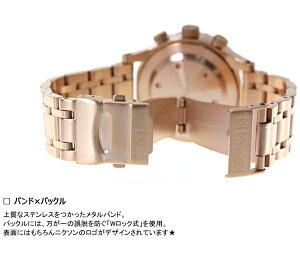 ニクソンNIXON38-20クロノ38-20CHRONO腕時計レディースクロノグラフローズゴールドNA4041044-00