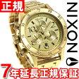 ニクソン NIXON 38-20クロノ 38-20 CHRONO 腕時計 レディース クロノグラフ ゴールド NA404501-00