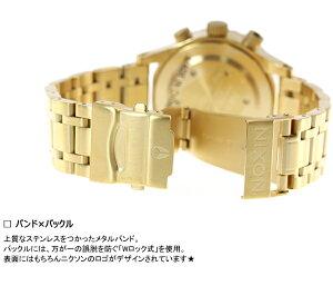 ニクソンNIXON38-20クロノ38-20CHRONO腕時計レディースクロノグラフゴールドNA404501-00