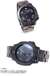 ニクソンNIXONレンジャーRANGER腕時計メンズオールガンメタNA506632-00