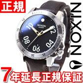 【10%OFFクーポン!3月27日9時59分まで!】ニクソン NIXON レンジャーレザー RANGER LEATHER 腕時計 メンズ ブラック/ブラウン NA508019-00