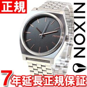 ニクソンNIXONタイムテラーTIMETELLER腕時計メンズグレイ/ローズゴールドNA0452064-00