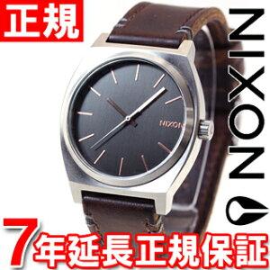ニクソンNIXONタイムテラーTIMETELLER腕時計メンズグレイ/ローズゴールド/ブラウンNA0452066-00
