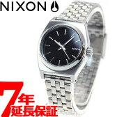 【1000円OFFクーポン!6月30日9時59分まで!】ニクソン NIXON スモールタイムテラー SMALL TIME TELLER 腕時計 レディース ブラック NA399000-00