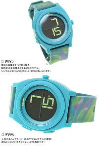 ニクソンNIXONタイムテラーデジTIMETELLERDIGI腕時計メンズ/レディースマーブルマルチNA4171610-00