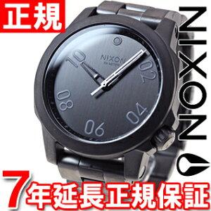 ニクソンNIXONレンジャー40RANGER40腕時計メンズ/レディースオールガンメタルNA468632-00