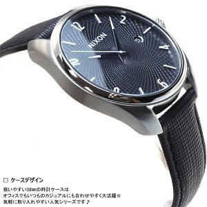 ニクソンNIXONブレットレザーBULLETLEATHER腕時計レディースブラックNA473000-00