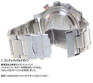 ニクソンNIXON48-20クロノ48-20CHRONO腕時計メンズクロノグラフグレイ/ローズゴールドNA4862064-00
