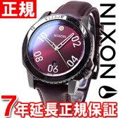 【1000円OFFクーポン!6月30日9時59分まで!】ニクソン NIXON レンジャーレザー RANGER LEATHER 腕時計 メンズ ガンメタル/ディープバーガンディー NA5082073-00