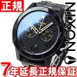ニクソン NIXON レンジャークロノ RANGER CHRONO 腕時計 メンズ クロノグラフ ブラック/ゴールド NA549010-00