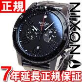 【5%OFFクーポン!5月8日9時59分まで!】ニクソン NIXON レンジャークロノ RANGER CHRONO 腕時計 メンズ クロノグラフ ガンメタル/ブラック NA5491531-00【あす楽対応】【即納可】