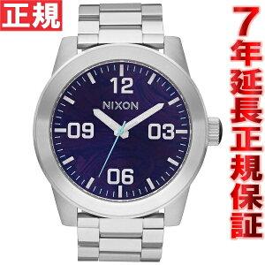 ニクソンNIXONコーポラルSSCORPORALSS腕時計メンズパープルNA346230-00
