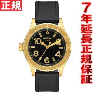 ニクソンNIXON38-20レザー38-20LEATHER腕時計レディースゴールド/ブラックNA467513-00