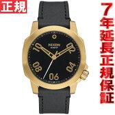 ニクソン NIXON レンジャー40レザー RANGER 40 LEATHER 腕時計 メンズ ゴールド/ブラック NA471513-00【2016 新作】