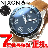 【5%OFFクーポン!5月8日9時59分まで!】ニクソン NIXON レンジャーレザー RANGER LEATHER 腕時計 メンズ ネイビー/サドル NA5082186-00【2016 新作】