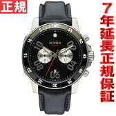ニクソン NIXON レンジャークロノレザー RANGER CHRONO LEATHER 腕時計 メンズ クロノグラフ ブラック NA940000-00【2016 新作】