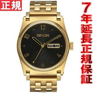 ニクソンNIXONジェーンJANE腕時計レディースオールゴールド/ブラックNA954510-00