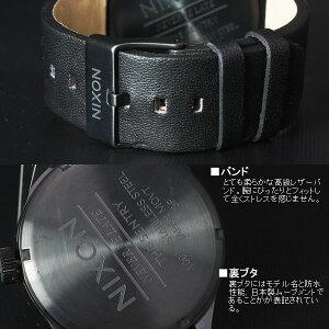 ニクソン腕時計メンズNIXONTHESENTRYLEATHERセントリー