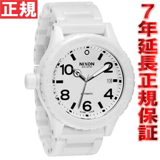Nixon NIXON THE ELITE CLASS CERAMIC 42-20 watch-men's all white NA148126-00