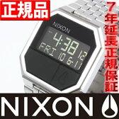 【10%OFFクーポン!3月27日9時59分まで!】NIXON RE-RUN (リ・ラン) ブラック ニクソン 腕時計 メンズ NA158000-00