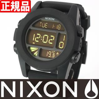 NIXON UNIT Nixon unit watch mens black digital NA197000-00