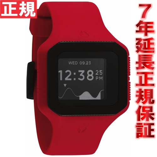 Nixon NIXON スーパータイド SUPERTIDE watches mens red NA316200-00