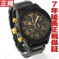 ニクソンNIXON42-20CHRONOクロノ腕時計メンズマットブラック/ゴールドクロノグラフNA0371041-00【NIXONニクソン2011新作】