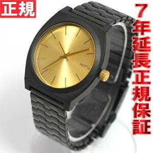 ニクソンNIXONタイムテラーTIMETELLER腕時計メンズマットブラック/ゴールドNA0451041-00