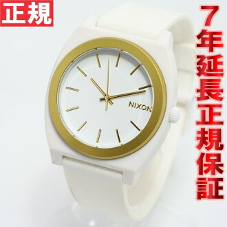 Nixon NIXON time teller p P TIME TELLER P watches ladies ' / men's white / gold ANO NA1191297-00