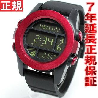 Nixon NIXON unit UNIT watches mens digital dark red / black ANO NA1971307-00