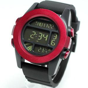 NIXONTHEUNITユニットニクソン腕時計メンズデジタルダークレッド/ブラックANONA1971307-00