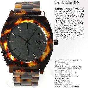 ニクソンNIXONタイムテラーアセテートTIMETELLERACETATE腕時計レディーストートイズNA327646-00