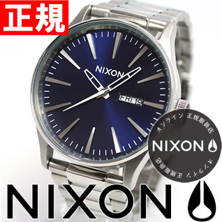 Nixon NIXON sentry SENTRY SS SS watch men's ブルーサンレイ NA3561258-00