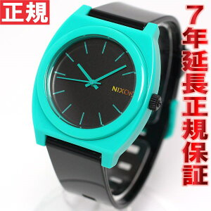ニクソンNIXONタイムテラーピーTIMETELLERP腕時計メンズブラック/ティールNA1191060-00