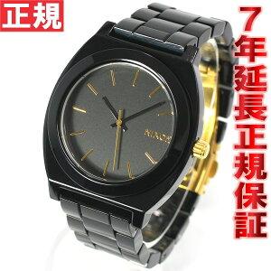 ニクソンNIXONタイムテラーアセテートTIMETELLERACETATE腕時計レディースオールブラック/ゴールドNA3271031-00