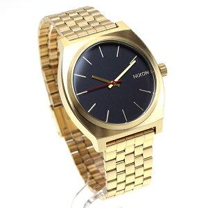ニクソンNIXONタイムテラーTIMETELLER限定モデル腕時計メンズオールゴールド/ブラック/ブライトピンクNA0452028-00