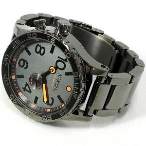ニクソンNIXON51-30腕時計メンズスティールグレーNA0571235-00