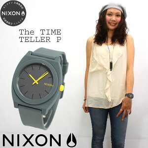 ニクソンNIXONタイムテラーPTIMETELLERP腕時計レディース/メンズマットスティールグレーNA1191244-00