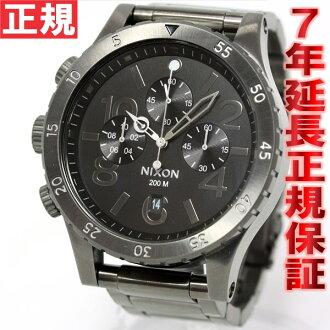 Nixon NIXON 48-20 Chrono 48-20 CHRONO watch men's chronograph オールガン metal NA486632-00