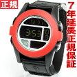 ニクソン NIXON THE BAJA バハ ニクソン 腕時計 メンズ オールブラック/レッド NA489760-00
