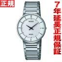 今だけ!ニールがお得♪店内ポイント最大44倍!セイコー ドルチェ&エクセリーヌ 腕時計 薄型ペア SEIKO DOLCE&EXCELINE ホワイト SACK015