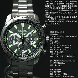 セイコーSEIKO腕時計メンズセイコー逆輸入クロノグラフSSB027P1(SSB027PC)