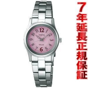 セイコーアルバアンジェーヌSEIKOALBAingenuソーラー腕時計レディースAHJD089