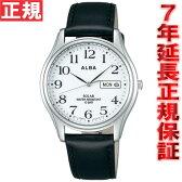 セイコー アルバ SEIKO ALBA ソーラー 腕時計 メンズ ペアウォッチ AEFD543