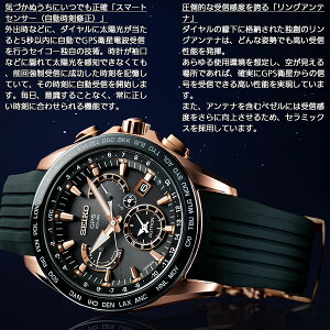 セイコーアストロンSEIKOASTRONGPSソーラーウォッチソーラーGPS衛星電波時計腕時計メンズSBXB055