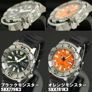 セイコーSEIKOダイバー腕時計オレンジモンスターSKX781K3200M防水自動巻