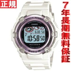 CASIOBaby-GカシオベビーGTripperトリッパー電波ソーラー腕時計レディース電波時計ホワイトBGR-3003-7BJF