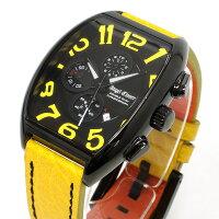 エンジェルクローバーAngelClover時計メンズ腕時計ダブルプレイDoublePlayクロノグラフDP38BYE-YE