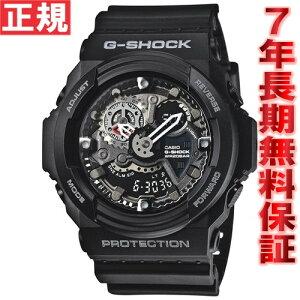 カシオGショックCASIOG-SHOCK腕時計メンズアナデジブラックGA-300-1AJF